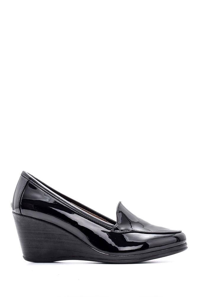 Siyah Kadın Rugan Ayakkabı 5638127562