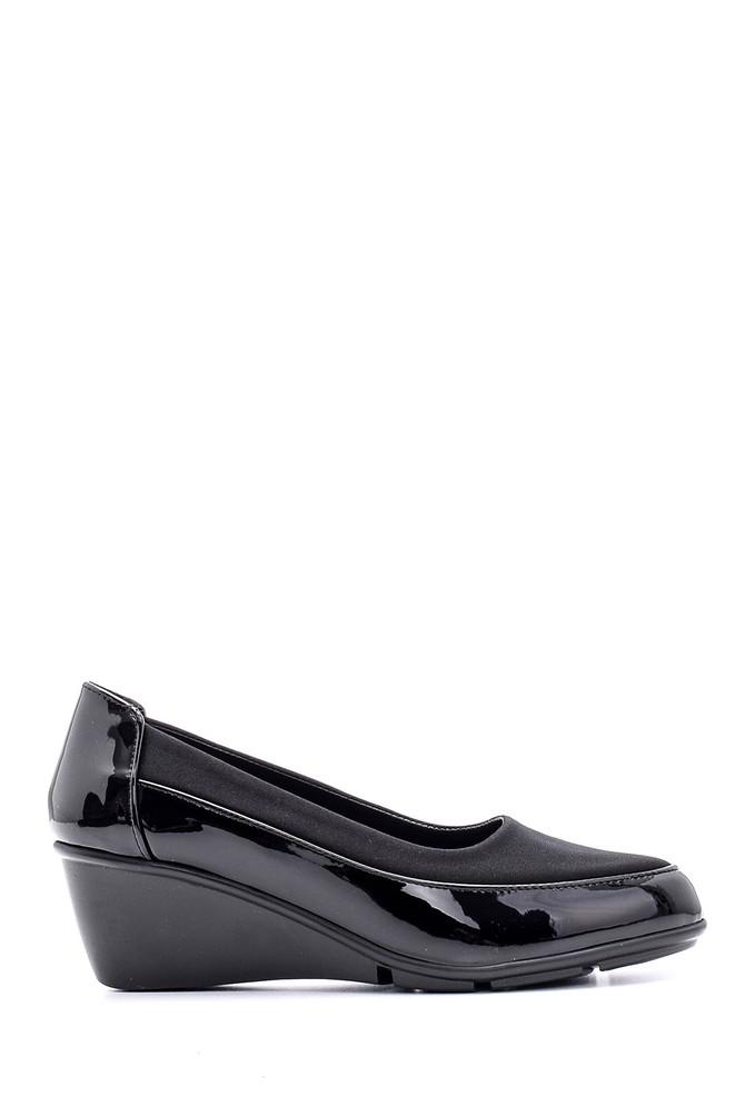 Siyah Kadın Rugan Ayakkabı 5638127589