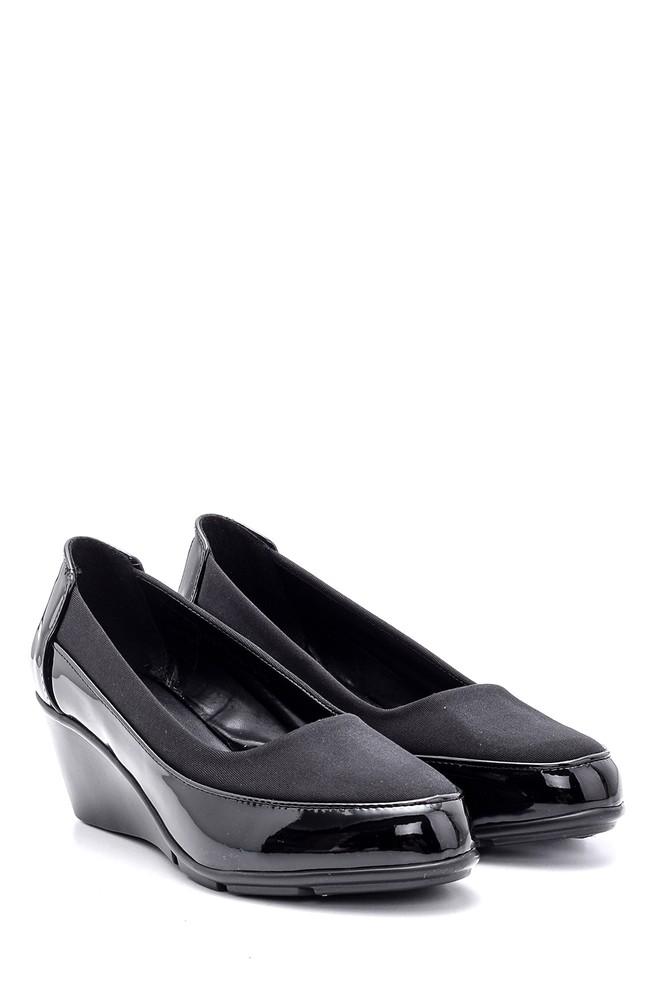 5638127589 Kadın Rugan Ayakkabı