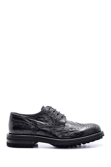 Siyah Erkek Casual Deri Ayakkabı 5638095594