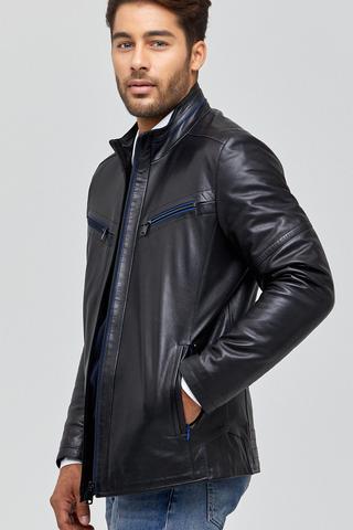 Navas Erkek Deri Ceket