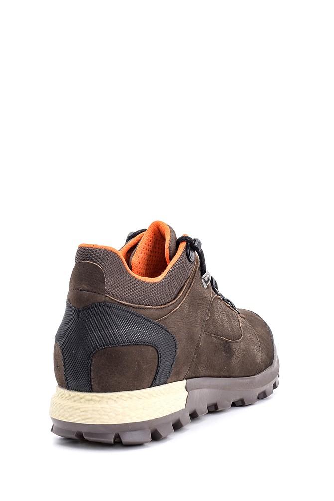 5638090025 Erkek Nubuk Deri Sneaker