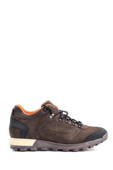 Kahverengi Erkek Nubuk Deri Sneaker 5638090025