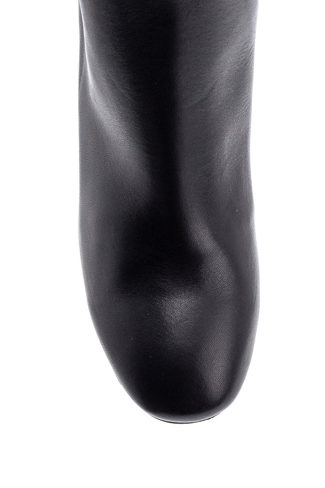 5638146218 Kadın Topuklu Deri Bot