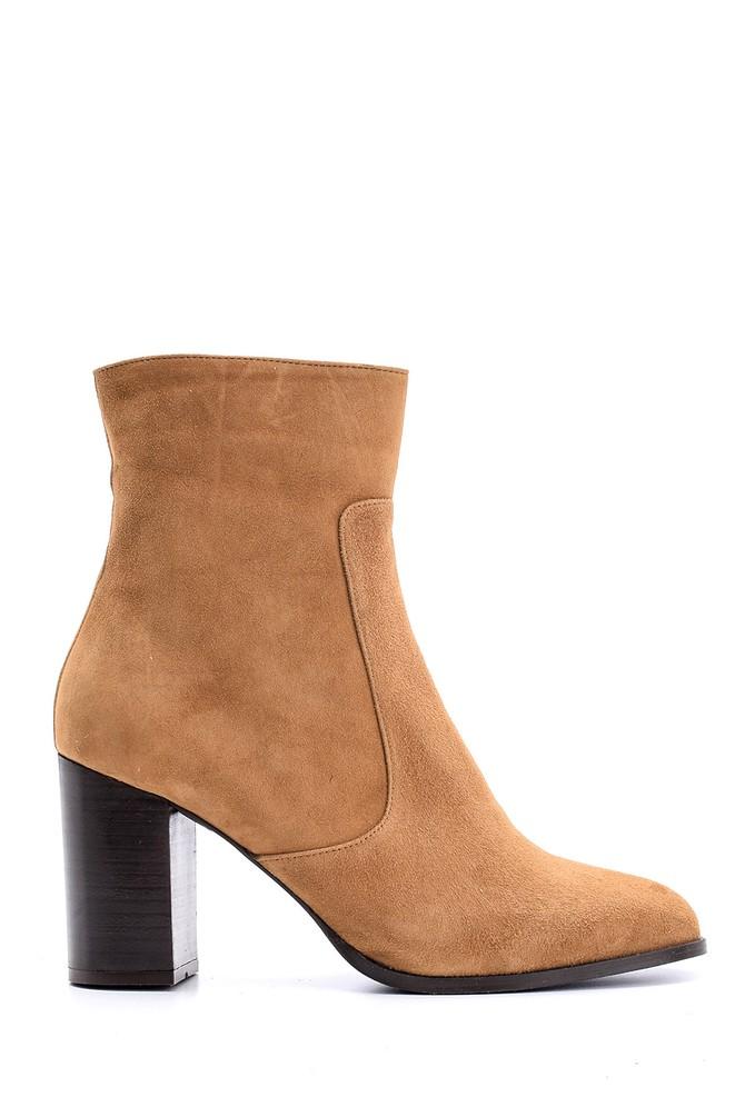 Kahverengi Kadın Topuklu Bot 5638146256