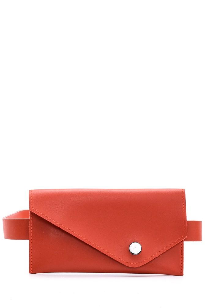 Kırmızı Kadın Bel Çantası 5638097993