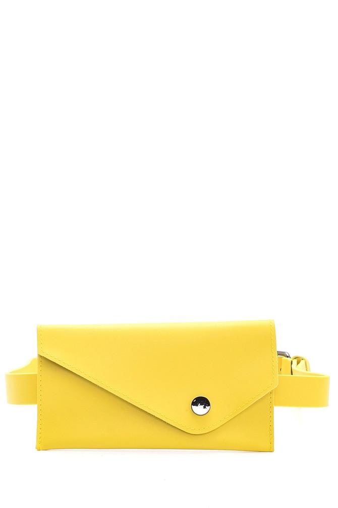 Sarı Kadın Bel Çantası 5638097992