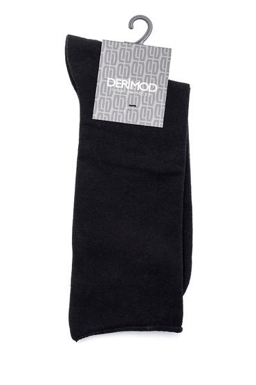 Siyah Erkek Pamuklu Çorap 5638159750