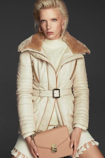 5638122701 Dalida Kadın Deri Ceket