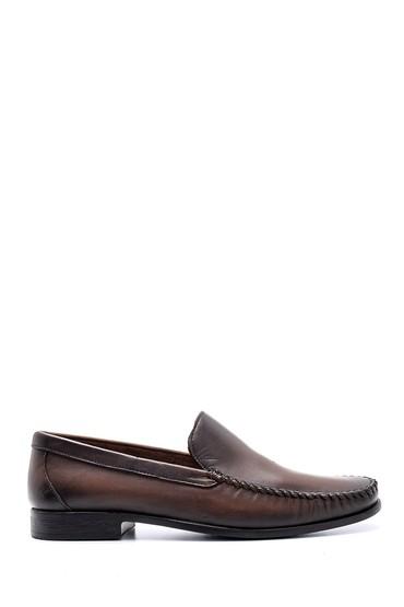 Kahverengi Erkek Deri Ayakkabı 5638132658