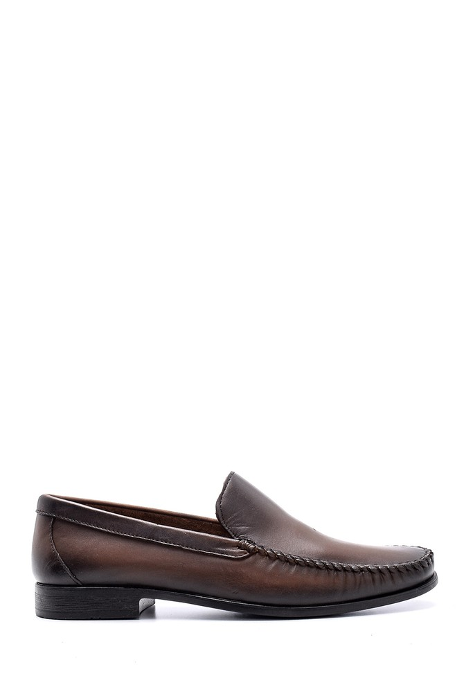 Kahverengi Erkek Deri Ayakkabı 5638132661