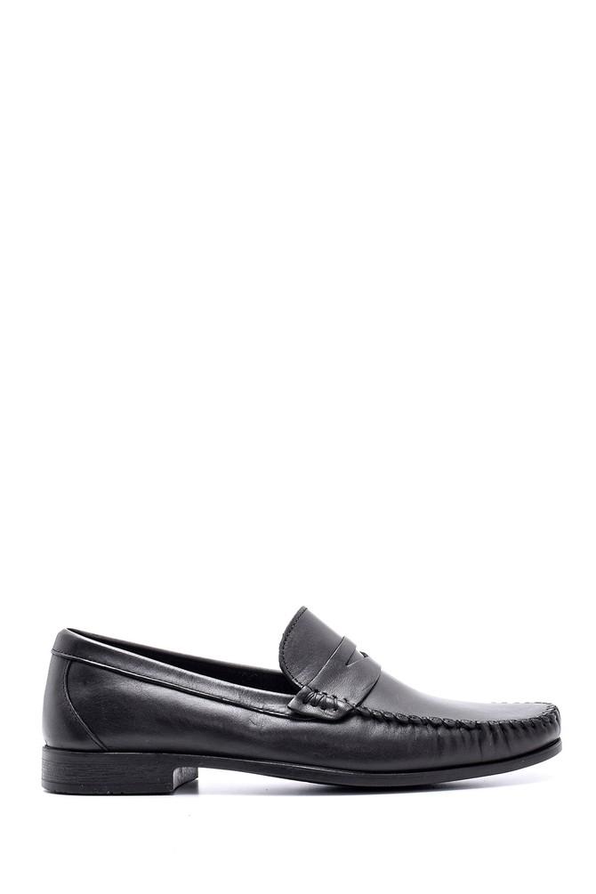 Siyah Erkek Deri Klasik Loafer 5638132684