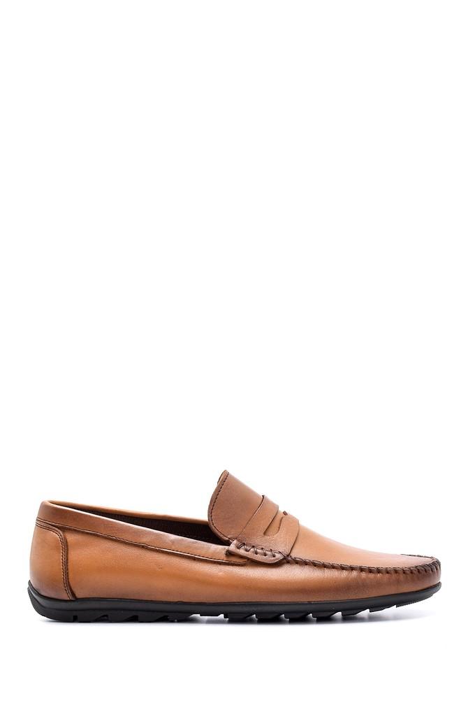 Kahverengi Erkek Deri Loafer 5638132785