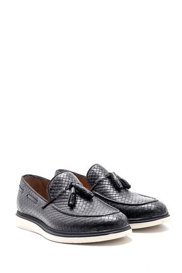 Siyah Erkek Deri Ayakkabı 5638132835