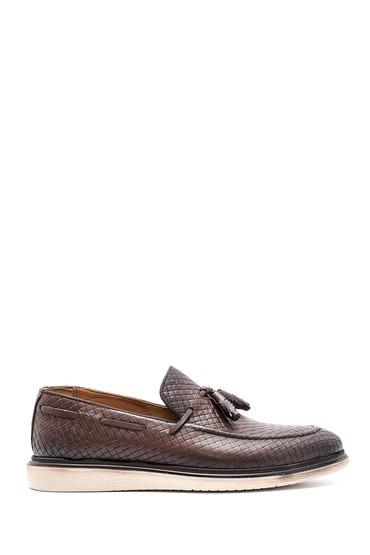 Kahverengi Erkek Deri Ayakkabı 5638132833