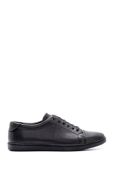 Siyah Erkek Deri Ayakkabı 5638132854