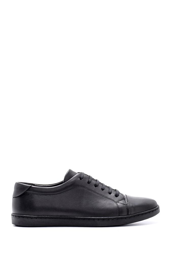 Siyah Erkek Deri Ayakkabı 5638132874