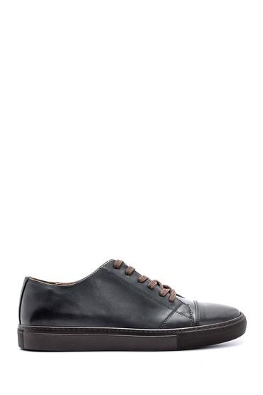 Yeşil Erkek Deri Sneaker 5638143042
