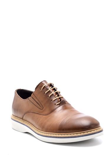 Kahverengi Erkek Casual Deri Ayakkabı 5638144039