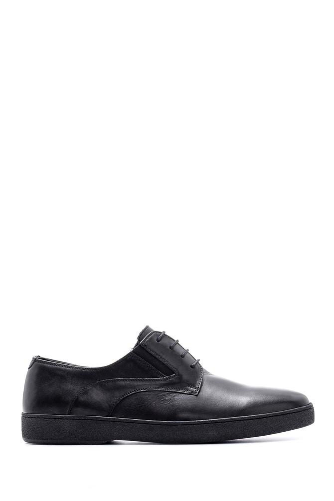 Siyah Erkek Casual Deri Ayakkabı 5638144132