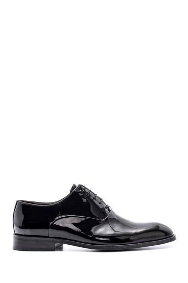 Siyah Erkek Deri Rugan Ayakkabı 5638148955