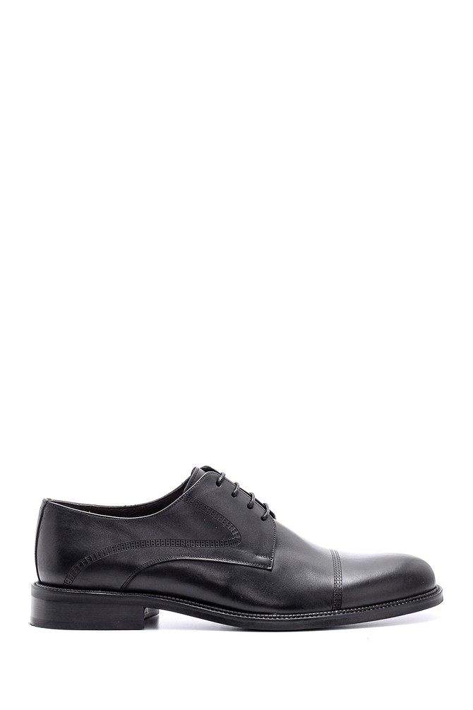 Siyah Erkek Klasik Deri Ayakkabı 5638149627