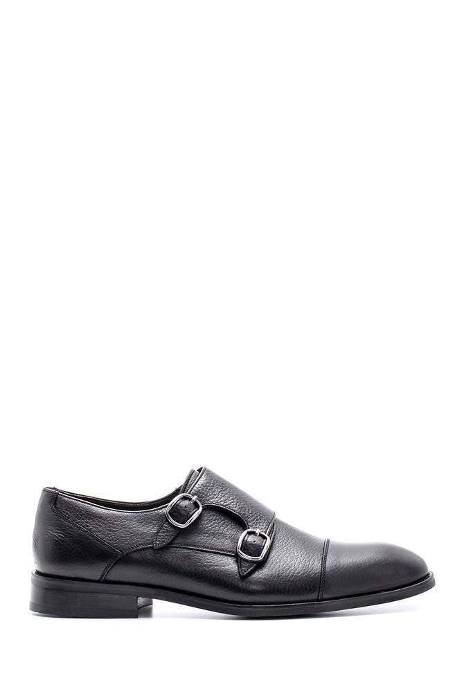 Siyah Erkek Deri Ayakkabı 5638149731