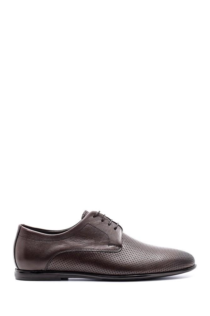 Kahverengi Erkek Deri Ayakkabı 5638163723
