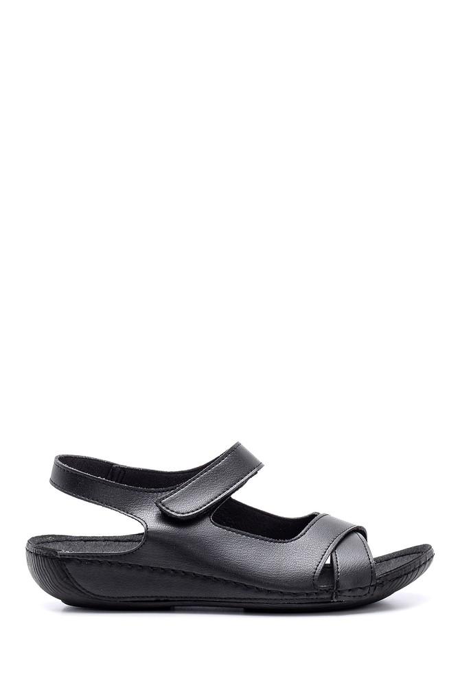 Siyah Kadın Sandalet 5638160086