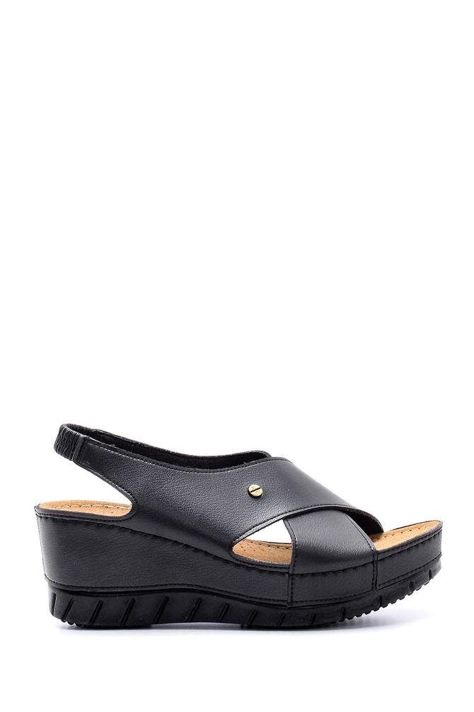 Siyah Kadın Sandalet 5638160319