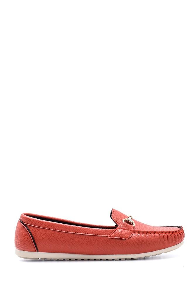 Kırmızı Kadın Loafer 5638160716