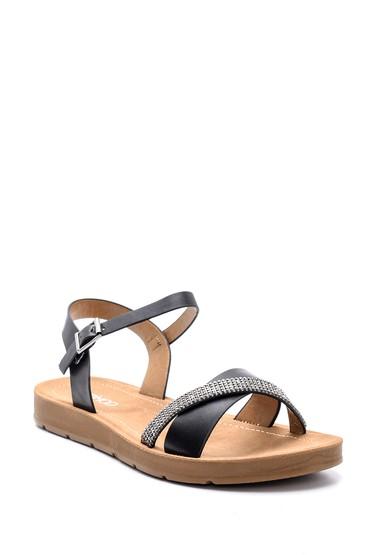 Siyah Kadın Sandalet 5638126153