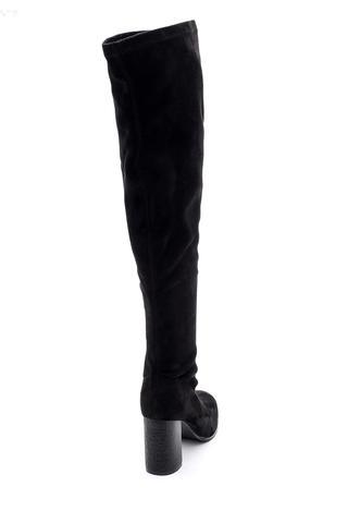 Kadın Topuklu Uzun Çizme