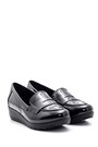 5638127546 Kadın Rugan Ayakkabı