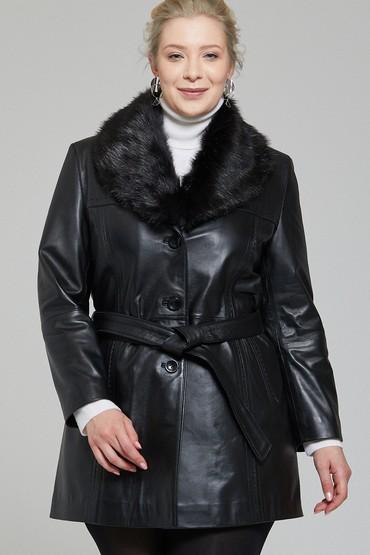 5637376169 New Alexandra Kadın Deri Ceket
