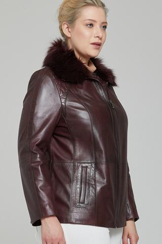 Samantha Kadın Deri Ceket