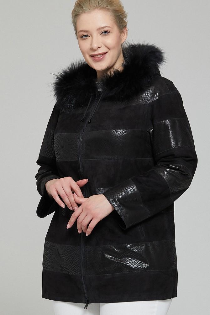 5638109112 Dalia Kadın Deri Ceket