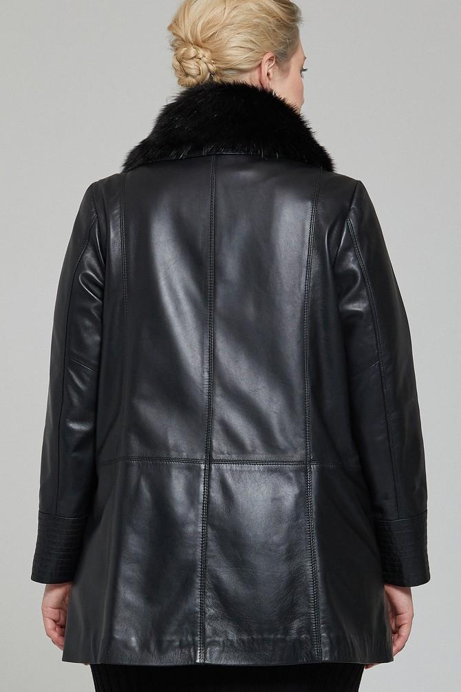 5637954597 Longchamp Kadın Deri Ceket