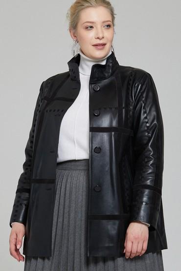 Siyah Jennifer Kadın Deri Ceket 5638115962
