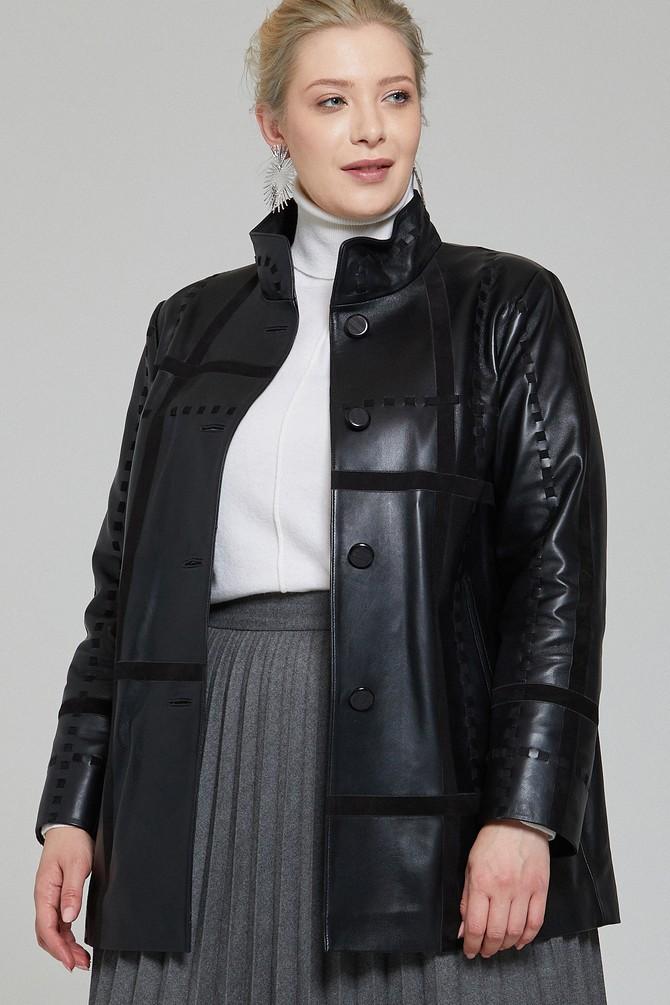 Siyah Jennifer Kadın Deri Ceket 5638115966