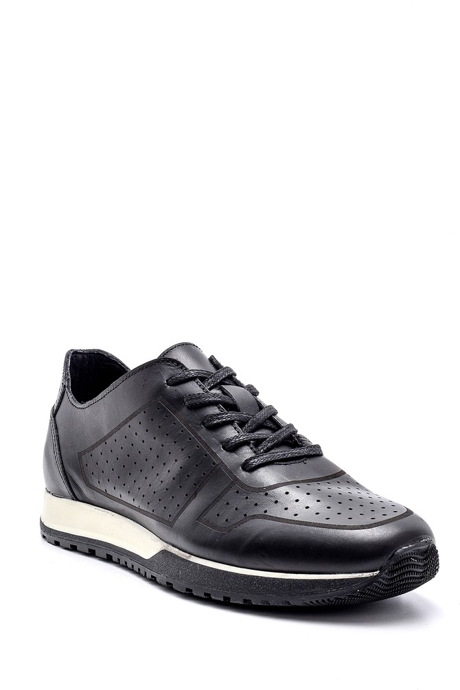 5638134661 Erkek Deri Sneaker