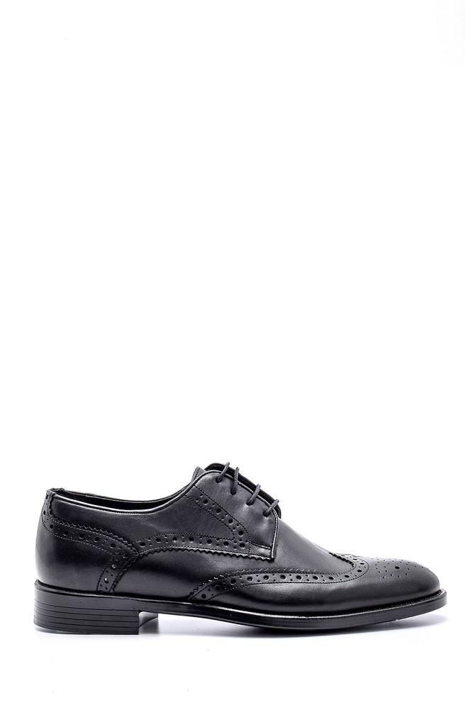 Siyah Erkek Deri Ayakkabı 5638145955