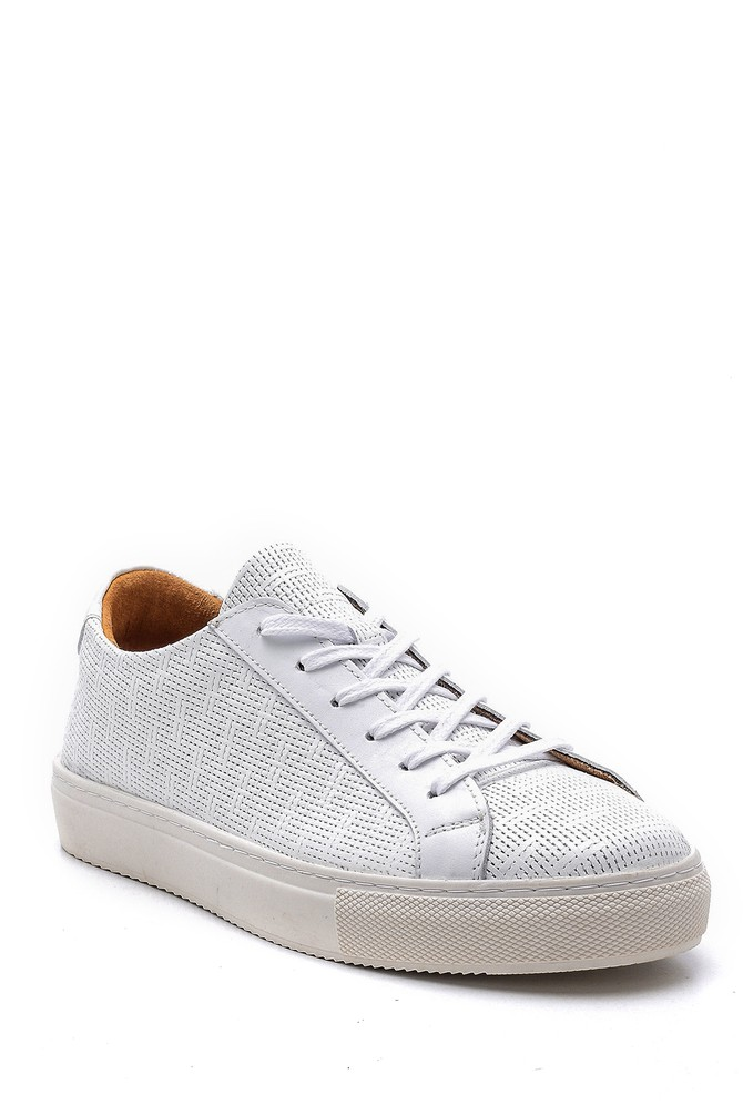 5638148437 Erkek Deri Sneaker