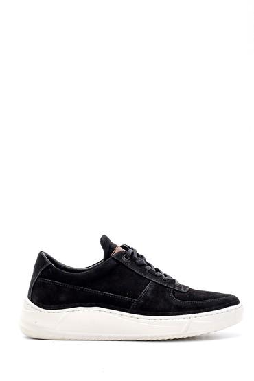 Siyah Erkek Nubuk Sneaker 5638155226