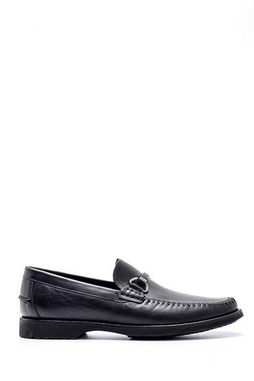 Siyah Erkek Deri Loafer 5638155291