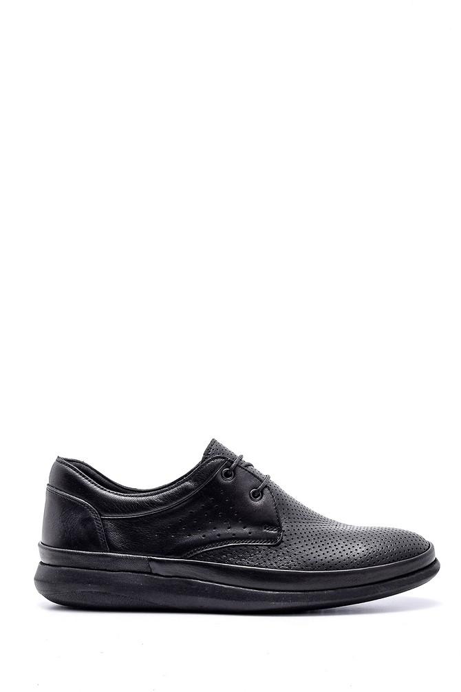 Siyah Erkek Deri Ayakkabı 5638155438