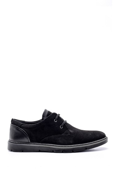 Siyah Erkek Nubuk Casual Ayakkabı 5638158499