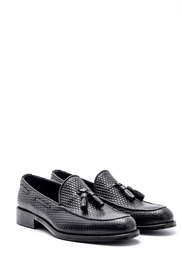 Siyah Erkek Deri Ayakkabı 5638162659