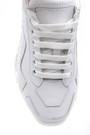 5638148277 Kadın Şeffaf Tabanlı Deri Sneaker