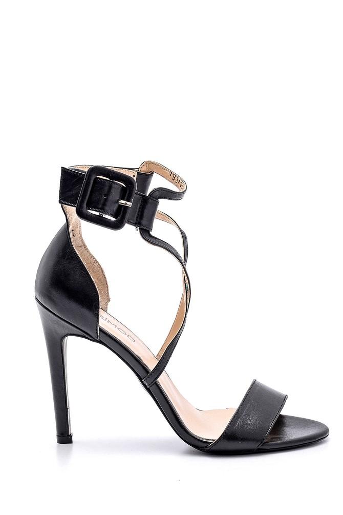 Siyah Kadın Topuklu Ayakkabı 5638163117